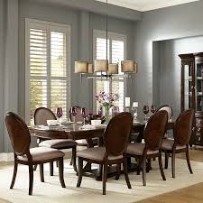 Brown Dining Room Table Verdiana Rich Brown Cherry Finish Extending Dining Set By Inspire