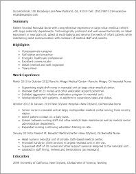 Professional Neonatal Nurse Templates to Showcase Your Talent     My Perfect Resume