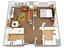 One Bedroom Apartment Designs by One Bedroom Apartment Designs Best 25 Studio Apartment Design