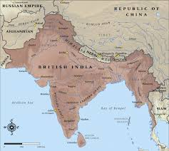 India Map Quiz by Modern Countries Of British India