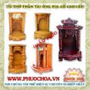 HCM - PHƯỚC HOA - Trang Tủ Thờ Thần Tài-Phật-Tượng Gốm Sứ-Đồ Đồng <b>...</b>