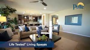 new homes by pulte homes butte floorplan youtube
