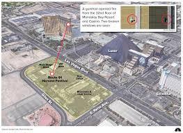 Mandalay Bay Floor Plan by Las Vegas Shooter Seemed To Use A Machine Gun But How Nbc News