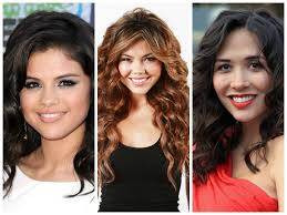 medium length hairstyles for round faces 2014 long curly hairstyles for a round face hair world magazine
