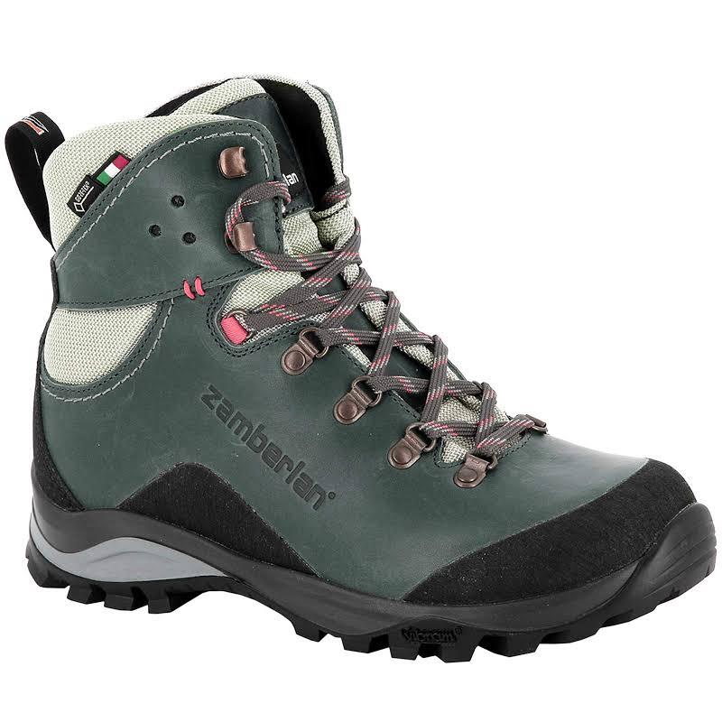 Zamberlan Marie GTX RR Hiking Boots Waxed Peacock Medium 8 0330PCW-Medium-8