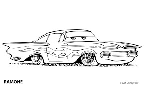 car colotring pages