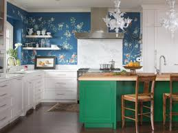remarkable white wooden cabinet ideas and amazing blue wall paint
