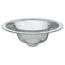 4 1 2 in mesh kitchen sink strainer in stainless steel 88822