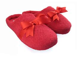 women u0027s house slippers bow red bs002 7 00 monster slippers