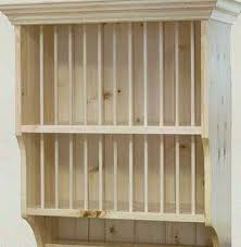 Wall Mounted Shelves Wood Plans by Plate Rack Plans Building U2013 Wooden Plate Rack Wall Mounted