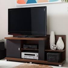 target tv stands for flat screens ameriwood carson tv stand in espresso 1195096 the home depot