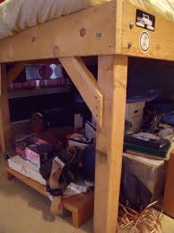 Plans For Building Bunk Beds by Diy 4x4 Bunk Beds Make Your Own Loft Bed Bodacious Bunk Beds