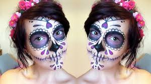dead makeup halloween halloween how to sugar skull makeup tutorial day of the dead