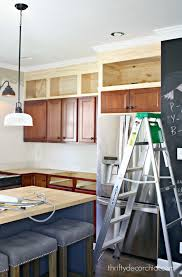Best Kitchen Cabinets On A Budget by Building Cabinets Up To The Ceiling Building Cabinets Thrifty