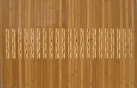 Teak Floor Mat Bamboo Bath Mat Roll Up Bamboo Bath Shower Bathtub Spa Sauna Mat