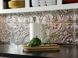 Tin Backsplash Tiles Home Design Ideas - White tin backsplash