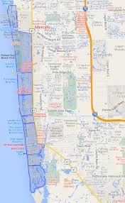 Fort Myers Zip Code Map by Naples Community Map