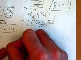 Quadratic Formula Kuta       YouTube YouTube