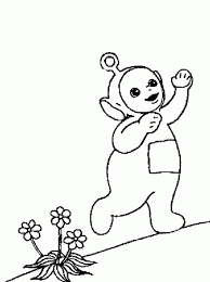 teletubbies coloring pages coloring pages kids