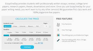 Essay editing service review