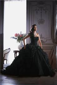 online buy wholesale gothic black wedding gown from china gothic