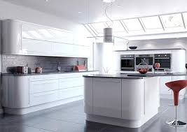 How Much Are Custom Kitchen Cabinets Kitchen Amazing White Gloss Cabinets Home Design Ideas Inside