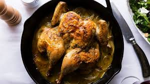 Ina Garten Address Skillet Roasted Lemon Chicken Recipe By Ina Garten Tasting Table