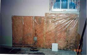 Insulating Basement Concrete Walls by No Vapor Retarders On Interior Side Of Air Permeable Foundation
