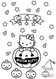 Halloween Preschool Printables Halloween Coloring Page Preschool Pages Free And For Preschoolers