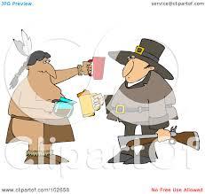 pilgrims on thanksgiving royalty free rf clipart illustration of a thanksgiving pilgrim