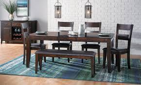 dark mango dining set haynes furniture virginia u0027s furniture store
