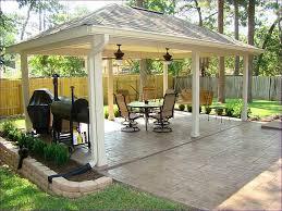 Backyard Cement Patio Ideas by Back Patio Ideas Like The Brick Color Garden Design Traditional