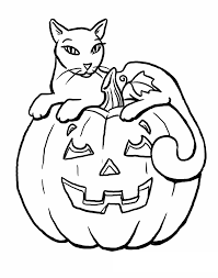 halloween cat coloring pages halloween coloring pages with cats