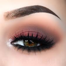 red and brown look you can achieve this with saucebox batalash etude or melt red eyelinerred