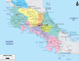 Centro America Map by El Mapa De Costa Rica Heredia U003c3 Costa Rica Pinterest Costa