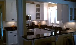 Small U Shaped Kitchen by Dining Room Small U Shaped Kitchen Countertops Decorations Ideas