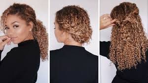 haircuts for really curly hair 3 super easy hairstyles for 3b 3c curly hair bella kurls