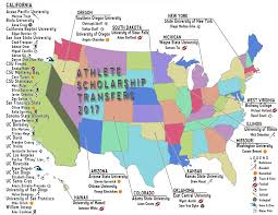 Colorado State University Map by De Anza College Sends Student Athletes To All Corners Of U S U2013 La