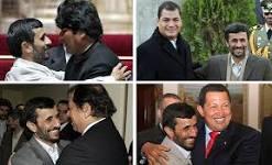 Irán y Bolivia, Ecuador, Venezuela, Nicaragua