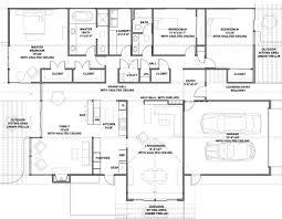 modern style house plan 3 beds 2 00 baths 2587 sq ft plan 438 1