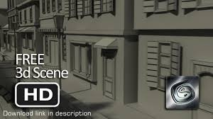 House 3d Model Free Download by Free 3d Scenes Classic European Buildings 3d Model Youtube