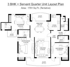 Servant Quarters Floor Plans Floor Plan Rps Savana Sector 88 Faridabad