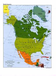 Color Coded Map Of Usa by Maps Of North America