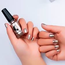nail polish plating magic mirror effect stainless steel mirror