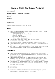 Medical Clerk Resume Sample by Driver Resume Sample Doc Resume For Your Job Application