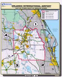 Map Of Lakeland Florida by Parking U0026 Transportation Orlando International Aiport Mco