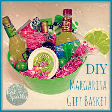 diy margarita gift basket perfect gift for a friend who has