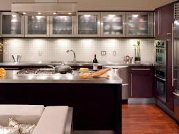Glass Kitchen Cabinet Doors Pictures Options Tips  Ideas HGTV - Kitchen cabinet with glass doors