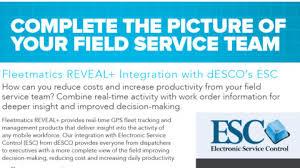 Literature   Service Software Evaluation Resources   Desco dESCO s ESC ESC GPS Vehicle Tracking Brochure