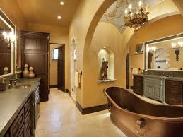 brown mediterranean bathroom photos hgtv awesome tuscan bathroom